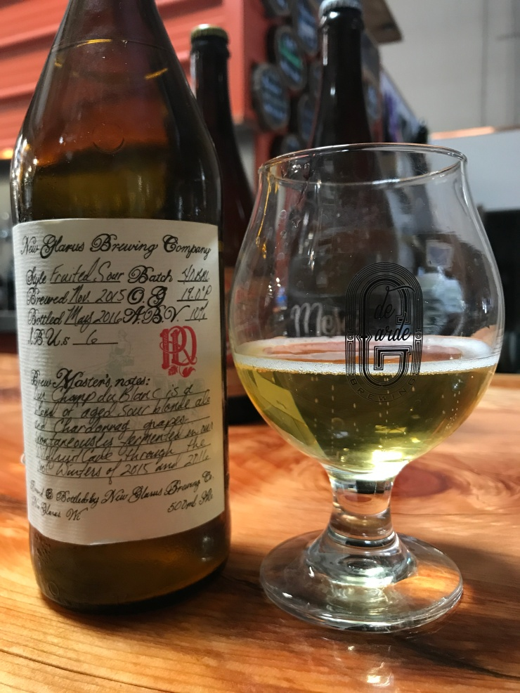 New Glarus - R&D Sour - Champ du Blanc