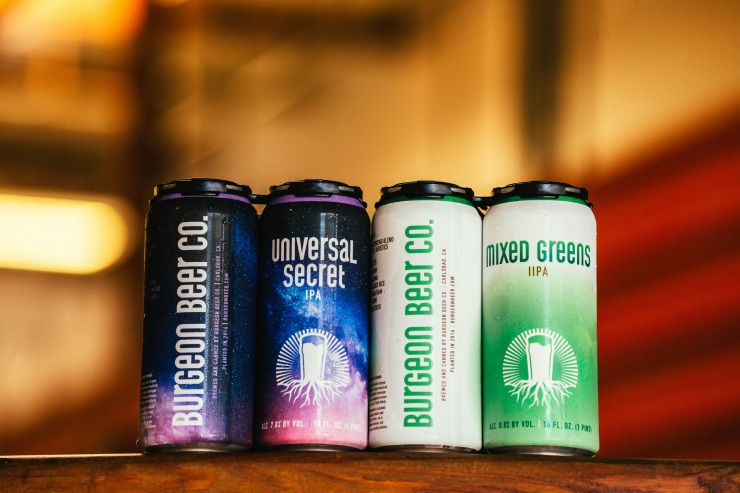 Burgeon Beer Co. - Universal Secret & Mixed Greens