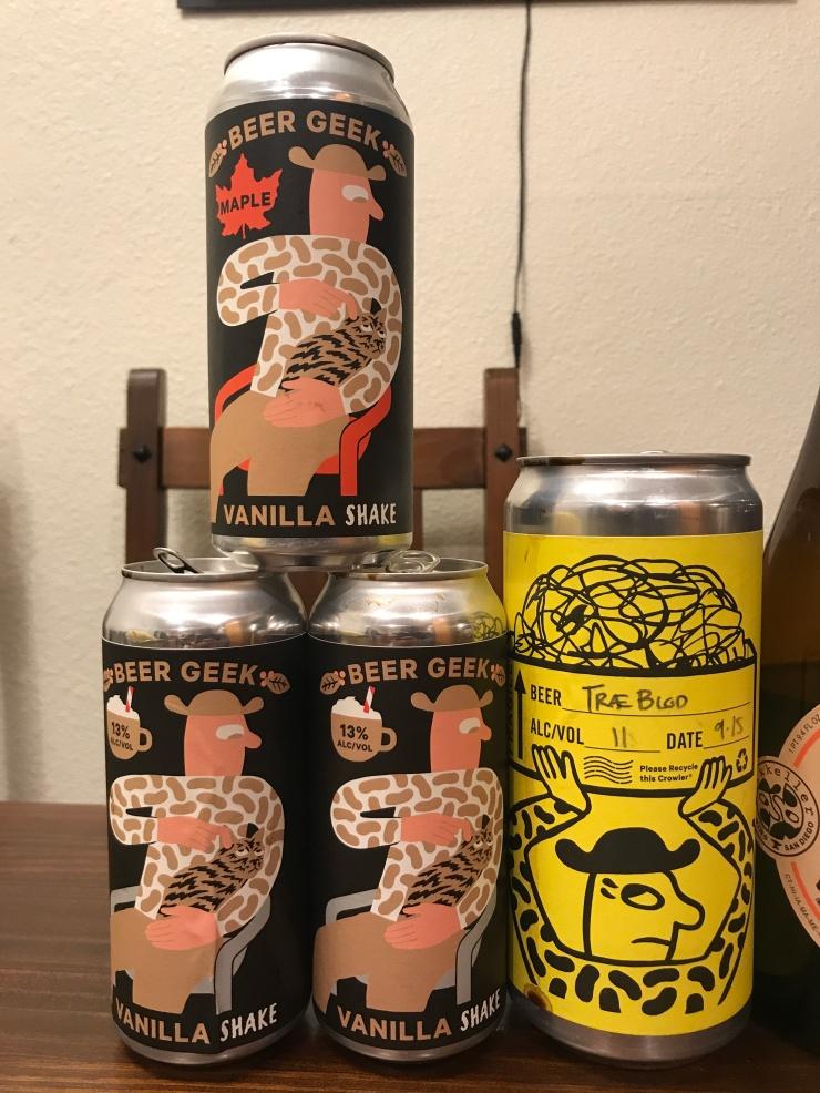 Beer Geek Vanilla Shakes & Traeblod
