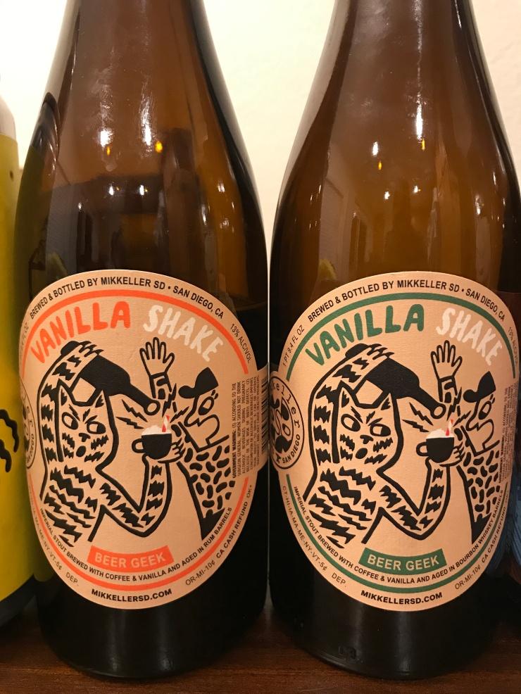 BA Vanilla Shakes